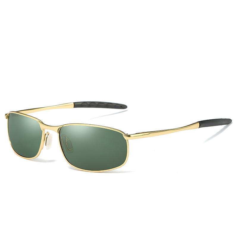 d2665e2fd2 Compre Gafas De Sol Para Hombre Que Conducen Al Aire Libre Gafas De Sol  Clásicas De Aviador Polarizadas 100% UV400 Gafas De Protección A $6.1 Del  Beautyacc ...