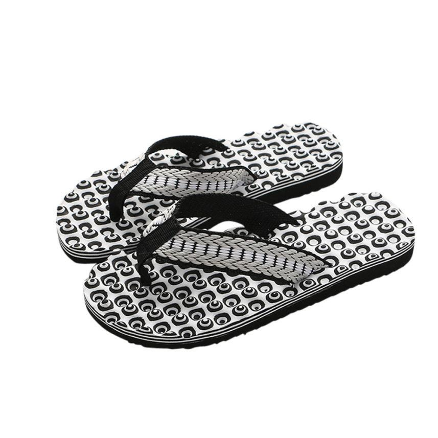 f1194394830d8f 2018 Slippers Men Home Summer Comfortable Massage Flip Flops Shoes Sandals  Male Slipper Indoor & Outdoor Flip Flops 4.13 Womens Loafers Fashion Shoes  From ...