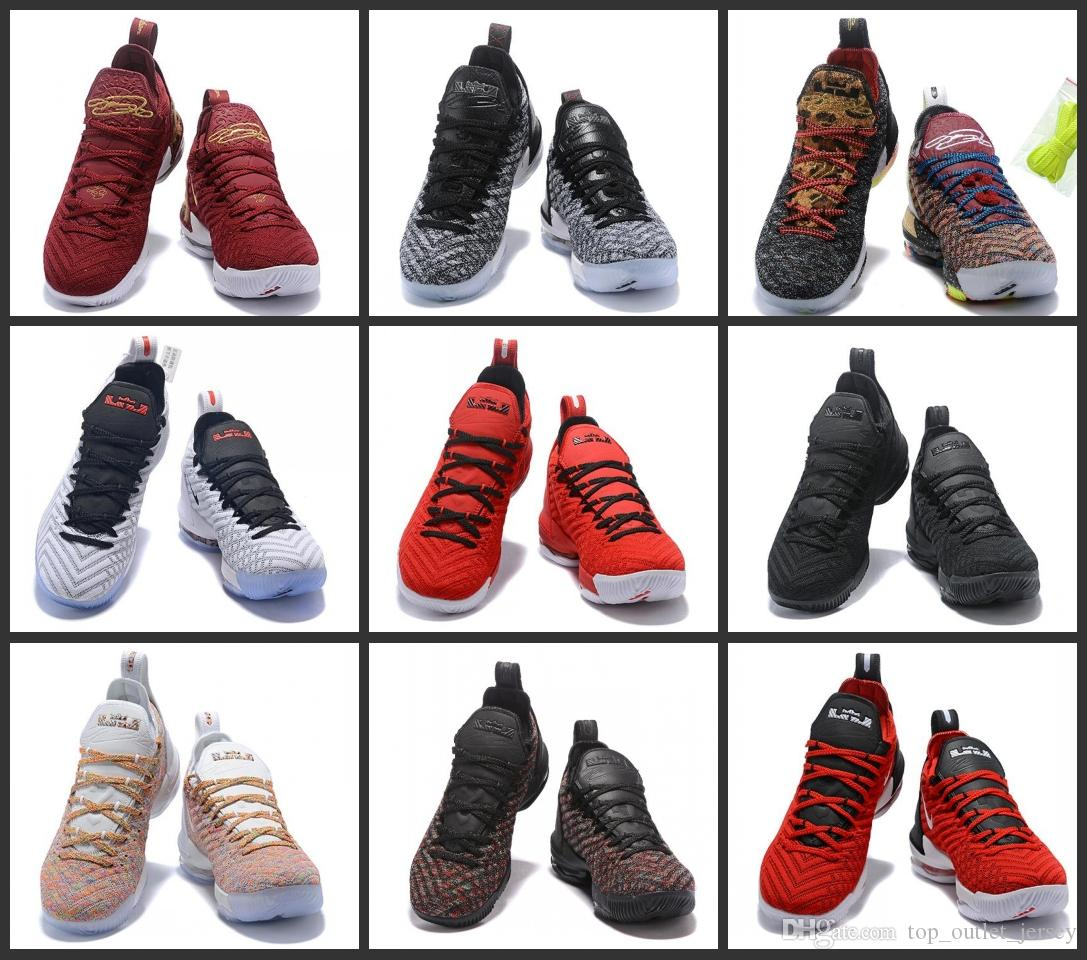 on sale b0d38 b1fbd New arrival LBJ16 men s basketball shoes Sports Shoes Mens Running Trainer  Shoe High Quality James 16 Sneakers