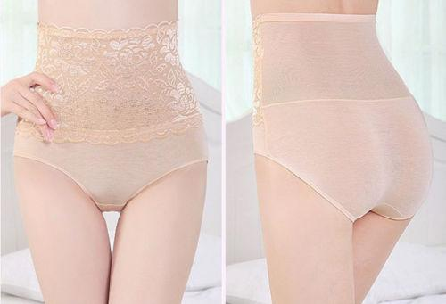 UK المالية السيدات مثير ملابس داخلية الكلسون المشكل الجسم الرباط المرقعة عالية الخصر الإمبراطورية سراويل