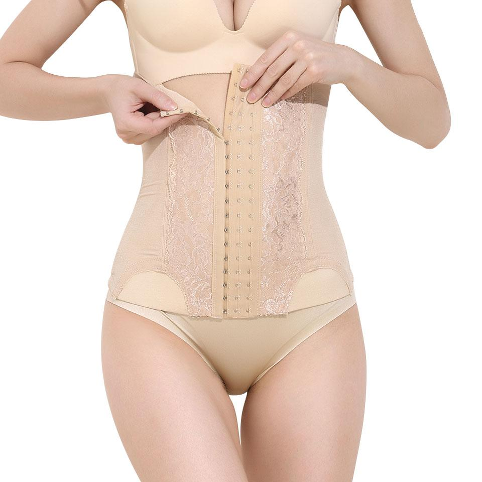 26571b4b94c Hot Waist Trainer Shaper Slimming Woman Body Postpartum Modeling Strap  Corrective Underwear Tummy Shaper Steel Boned Shapewear Online with   25.35 Piece on ...