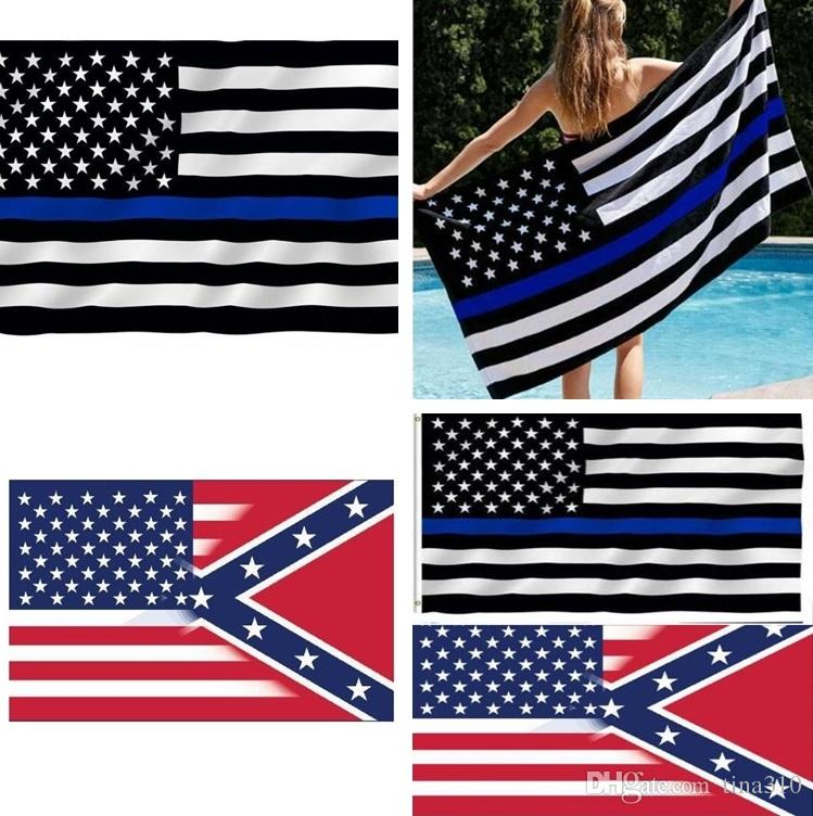 498f9e6d5a0a 2019 New 90 150cm American Flag With Confederate Rebel Civil War Flag New  Style Hot Sell 3x5 Foot Flag Free Fedex DHL I034 From Tina310