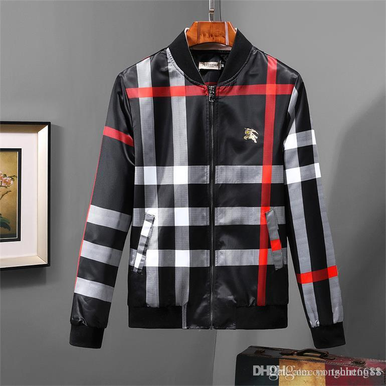 Wholesale Hot Sale New Double color stitching Letter Printing Mens Designer Jackets Pure Color Luxury Hooded Jacket Fashion Windbreaker @279