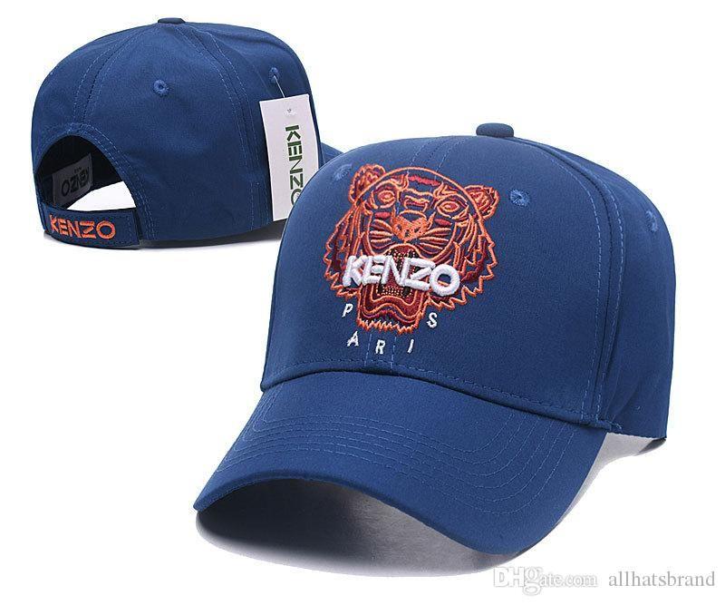 Compre 2018 Gorras De Béisbol De Diseño Nuevo Lujo Para Hombre Sombreros De  Cabeza De Tigre Bordado Con Hueso Hueso Hombres Mujeres Casquette Sombrero  Para ... b5ed702e04b