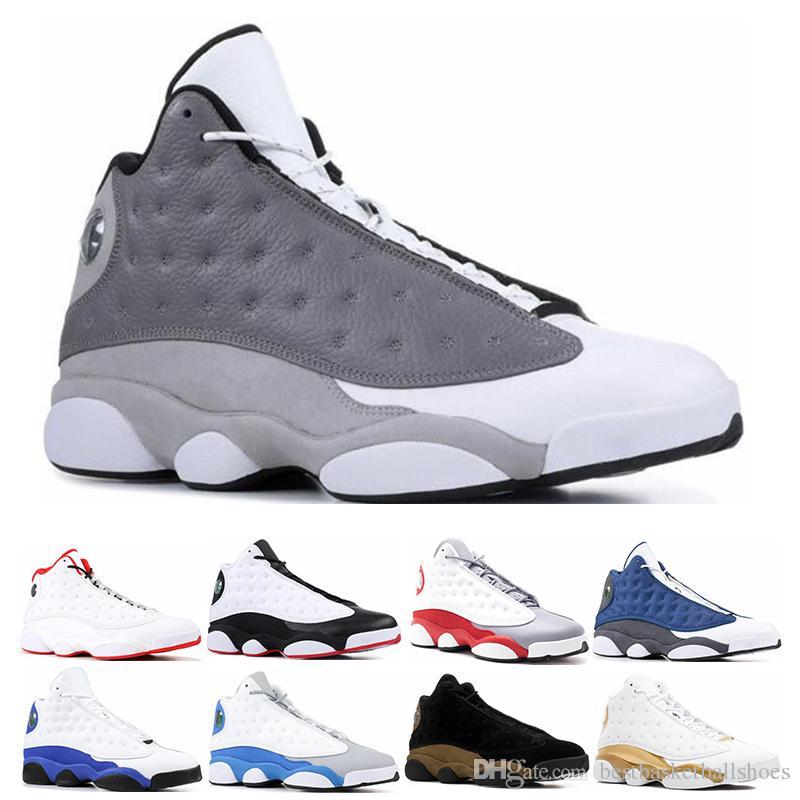 2f3d61dc111 2019 13s Men Basketball Shoes Bred Flints History of Flight Altitude ...
