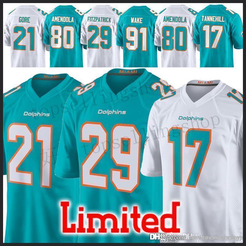 info for 141fa aa61b Dolphins jersey Men 29 Minkah Fitzpatrick 47 Kiko Alonso 80 Danny Amendola  21 Frank Gore 23 Jay Ajayi jerseys