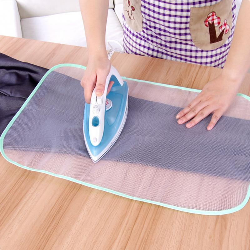 Protective Ironing Cloth High temperature resistant Board Press Iron Mesh  Insulation Pad Household iron ironing mat Home Accessories