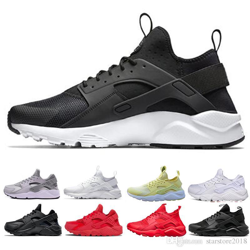 competitive price a0411 ab179 Großhandel Nike Air Huarache Neue Designer Huarache Ultra Run Schuhe  Dreifach Weiß Schwarz Rot Männer Frauen Laufschuhe Gelb Grau Huaraches  Sportschuh ...