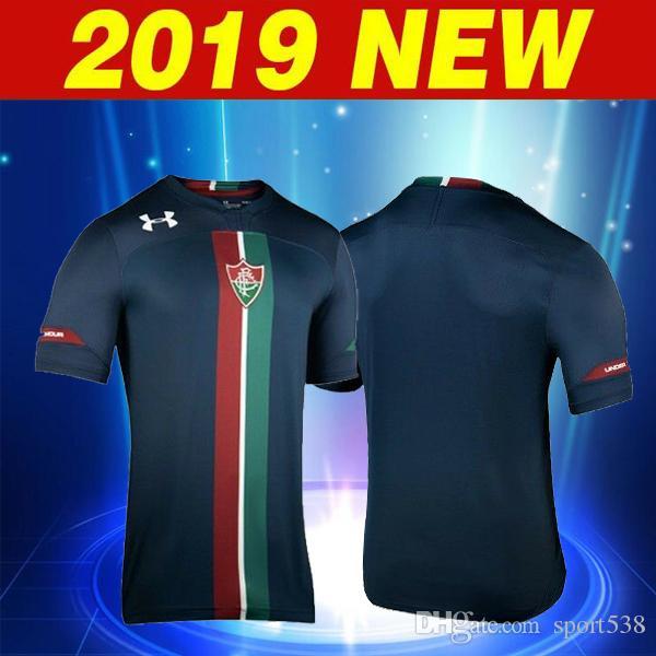 Compre 2019 2020 Fluminense Football Club Camisas De Futebol Terceira Liga  Do Brasil Negro 2019 Fluminense Em Casa Longe Do Brasil Camisas De Futebol  Jersey ... 56d4b8d3a363f