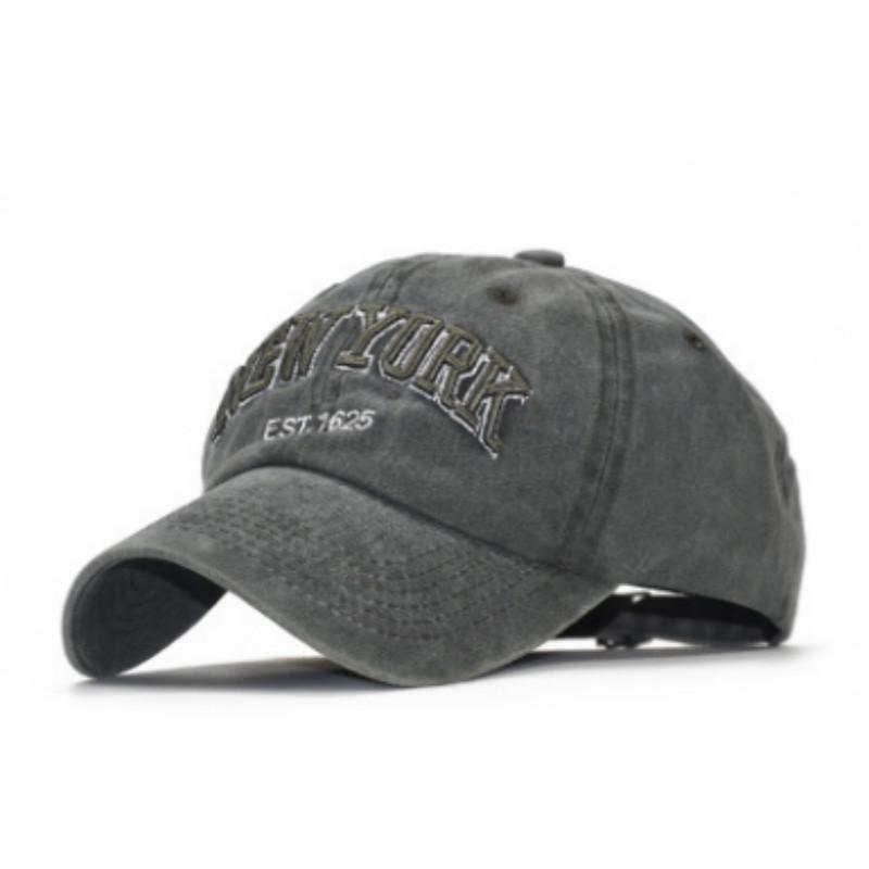 Compre Carta Bordado NUEVA YORK Sombrero Del Papá Para Las Mujeres De Los Hombres  Algodón Lavado Gorra De Béisbol Hip Hop Ajustable Snapback Hat Cap Hombre  ... 9b7e175df9d