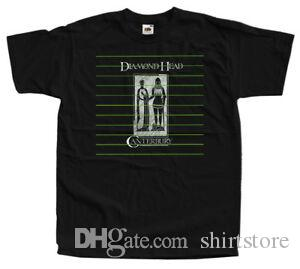 Diamond Head - Men, capa do álbum T-SHIRT (BLACK) S-5XL