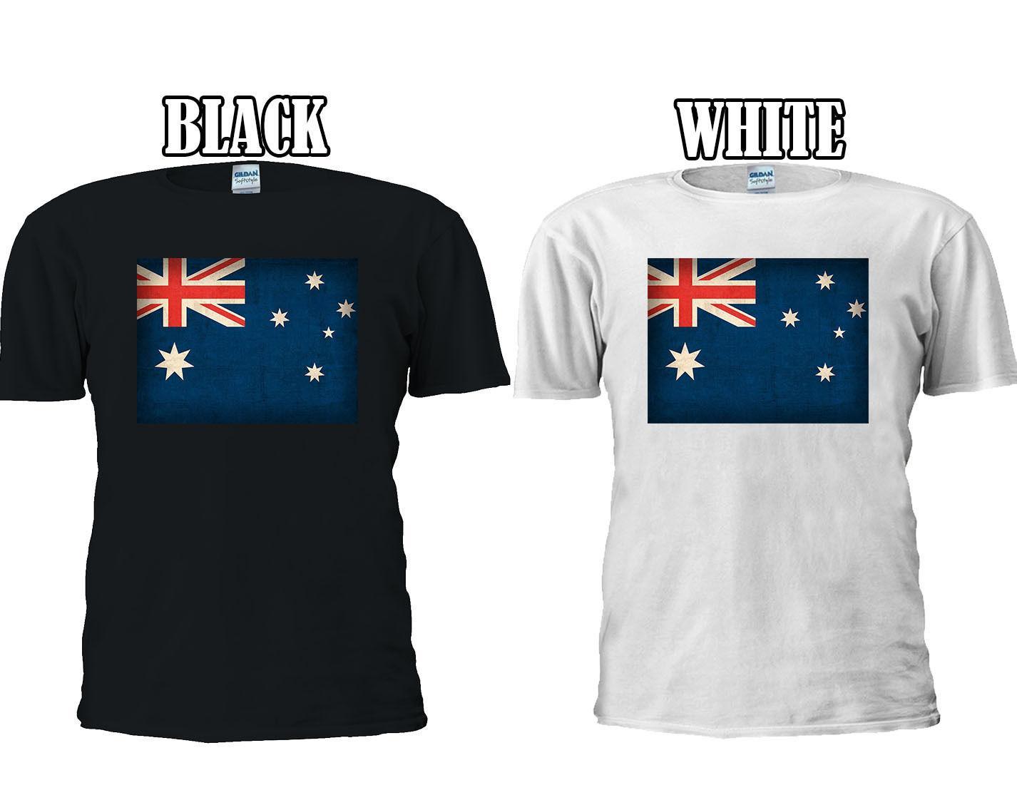 Australian Flag Australia Sydney T Shirt Vest Tank Top Men Women