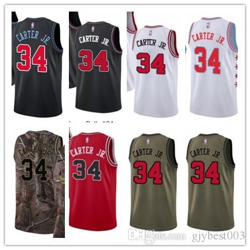 huge discount 843e7 5eed8 custom best 2018 Basketball Wear Men's Chicago Bull#34 Wendell Carter Jr  Swingman Yellow Jersey - City Edition Basketball Jerseys