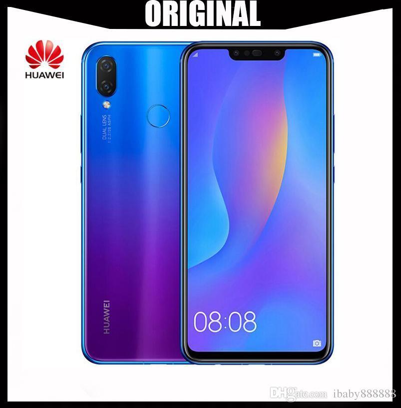 Originais huawei nova 3i nova3i telefone móvel 4g / 6g ram 64g / 128g rom  6 3 polegadas kirin710 octa núcleo android 8 1 vidro corpo do telefone