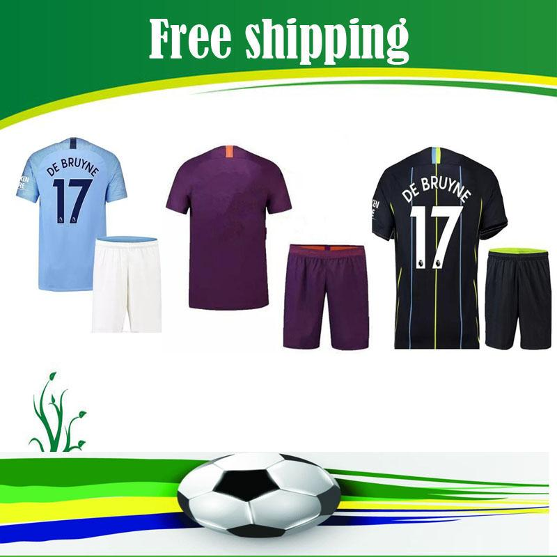 1bb6523a2 2019 Optimum Quality 2018 2019 Manchesteres City Adlut Kit Soccer Jerseys  Camisetas Shirt Survetement ManS Football Shirt From Dhnewlife2020