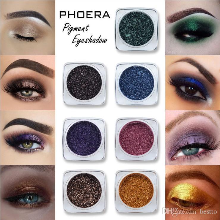 Loose Glitter Shimmer Pigment Eyeshadow Powder Cosmetic Eyes Makeup