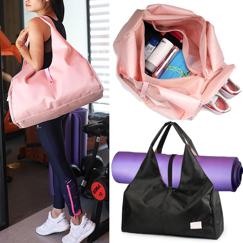 c7554ce28d 2019 Swimming Yoga Mat Bags Gym Fitness Outdoor Waterproof Dry Wet Sports  Shoulder Bag Training Handbags For Women Men Shoes Travel From Jinzoug, ...