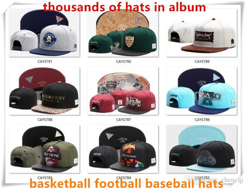 da675739f Lids Snapback Hats Cap Cayler Sons Snap Back Baseball Football Basketball  Custom Caps Adjustable Size Drop Shipping Choose From Album CY50