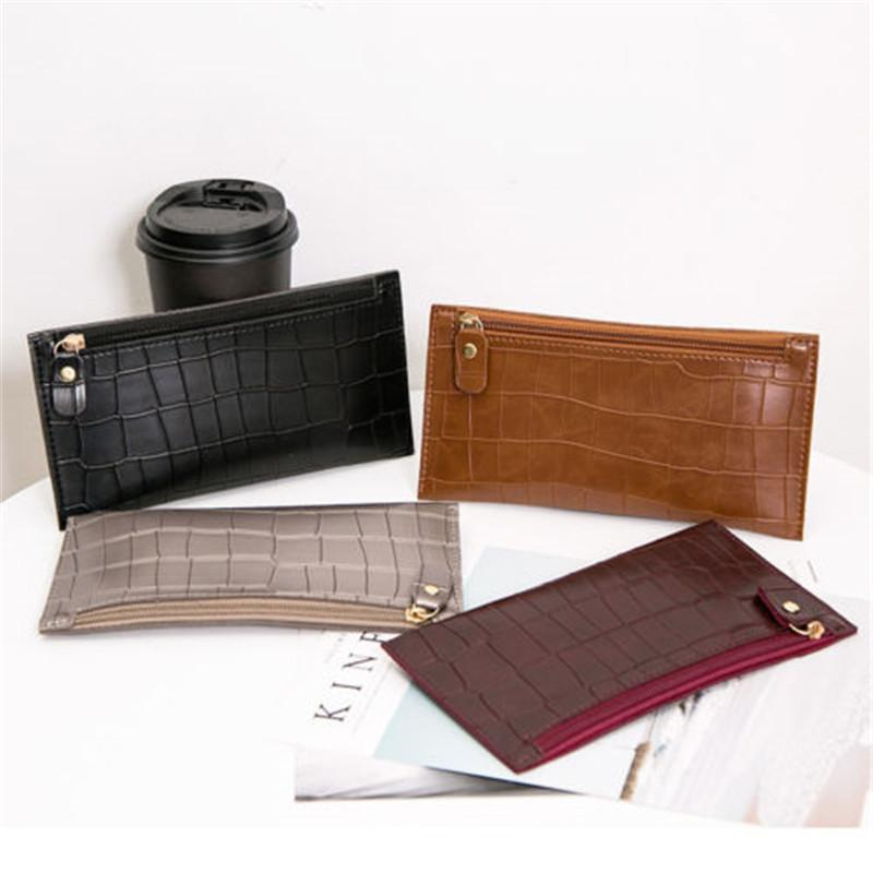 02c6785a579 Women Clutch PU Leather Wallet Long Card Holder Phone Bag Case Purse  Leather Goods Designer Wallets From Keyhess, $33.22| DHgate.Com