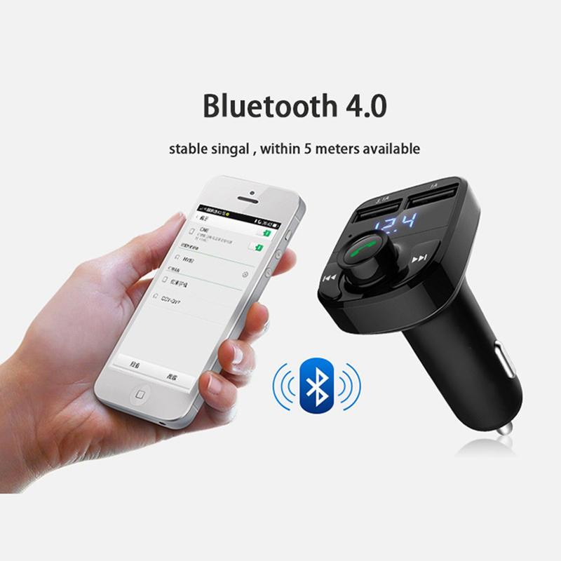 Car styling Car MP3 Audio Player Bluetooth Dual USB Car Charger for Porsche  cayenne macan key 911 panamera boxster accessories