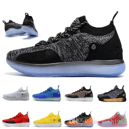 fa9820bc227c New Arrival Kevin Durant Kd 11 Basketball Shoes Mens Durant Gold Championship  MVP Finals Training Sneakers Sports Running Shoes Size 40 46 Canada 2019  From ...