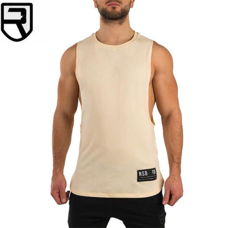 1849cb312d2565 2019 New Gyms Vest Clothing Bodybuilding Tank Top Men Fitness ...