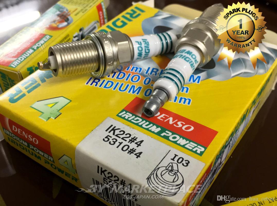 4 DENSO DOUBLE PLATINUM SPARK PLUGS for AUDI CHEVROLET MAZDA PONTIAC TOYOTA NEW
