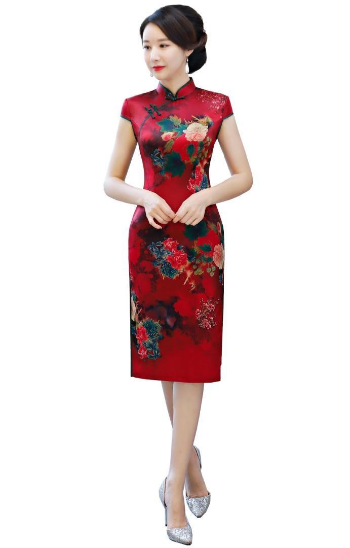 Chinese Dress Knee High