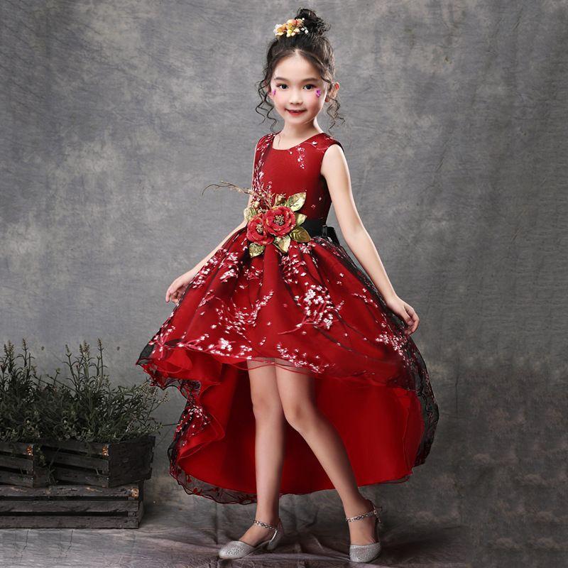 9e919e931 2019 Kids Dresses For Girls Princess Dress Toddler Girl Clothes Birthday  Party Vestidos Costume For Age 2 12 Yrs Thanksgiving Dresses From Callshe,  ...