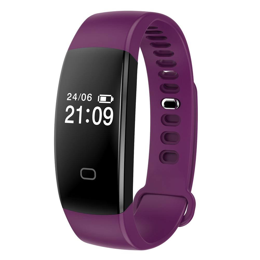 Bluetooth Smart Heart Rate Bracelet Watch Fitness Activity Tracker Wristband USB Charging Interface