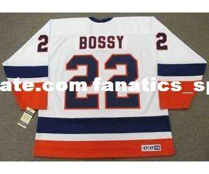 7ff770d3 2019 Mens,Womens,Kids MIKE BOSSY New York Islanders 1982 CCM Vintage M&N  Home Custom Any Name&No. Hockey Personalized Jerseys Goalit Cut Jerseys  From ...