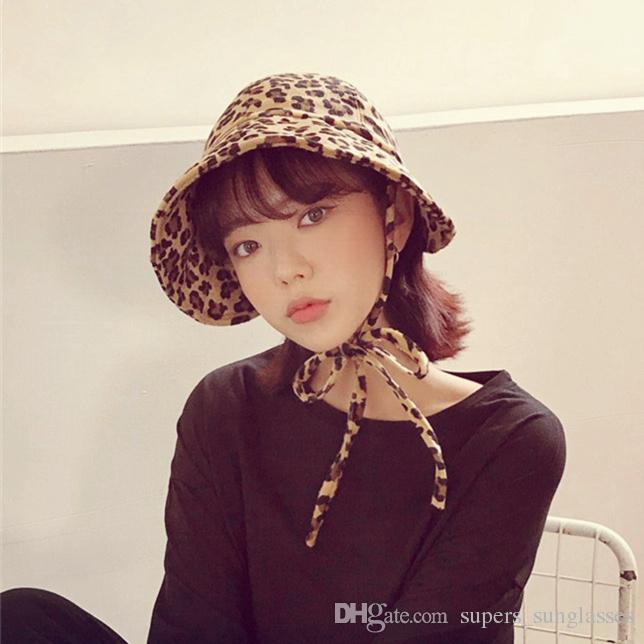 5ce0dd6f834 2019 Women Hats Woman Japanese Type Soft Bandage Spring Winter Keep Warm  Leopard Print Velvet Clothing Accessories Crochet Hat Baseball Hats From ...