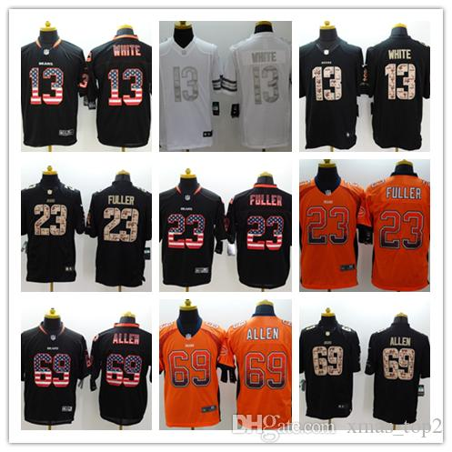 Mens 23 Kyle Fuller Jersey Chicago Bears Football Jersey Stitched  Embroidery 13 Kevin White 69 Jared Allen Rush Football Stitching Jerseys  Customize A Shirt ... 65beddb31