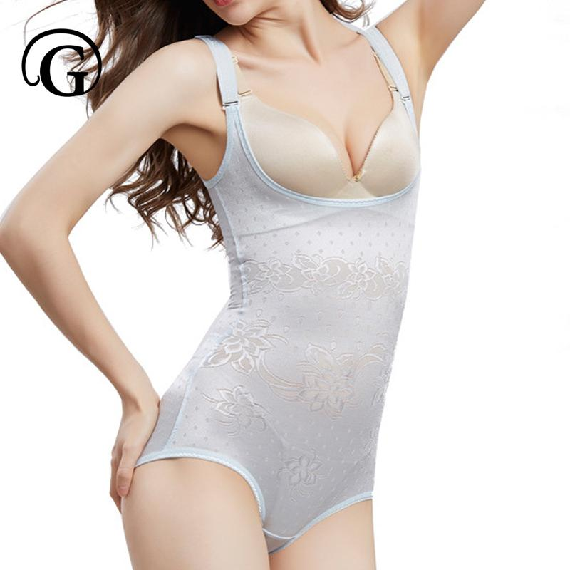 2c8a9b91063 2019 PRAYGER New Sexy Lift Buttock Bodysuits Open Butt Slimming Body  Shapers Control Waist Underbust Corset Women Invisible Shapewear From  Glorying