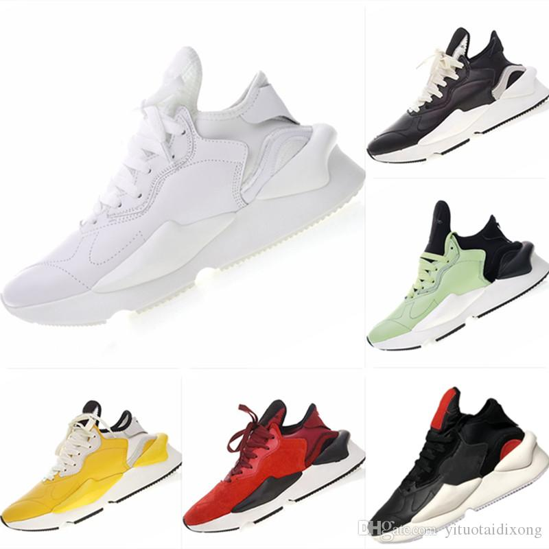 a6d313368acc1 With Box 2019 Y3 Kaiwa Chunky Warrior Genuine Leather Athletic Shoes Y3  Qasa Kaiwa Chunky Mix EVA Cushioning Running Shoes Good Running Shoes For Boys  Kids ...