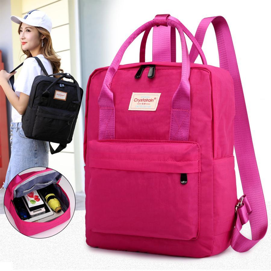 542b06ca3325 Good Quality Womens Preppy Backpacks For School Teenagers Girls Vintage  Oxford Kanken Backpack School Bag Purses Female Bookbag Mochila Mens  Backpacks Swiss ...