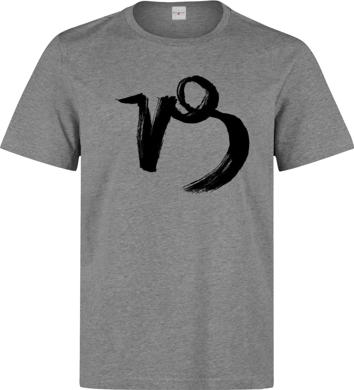 3cec4f24 Capricorn Zodiac Sign Logo Art Men's (woman's available) grey t shirt Funny  free shipping Unisex Casual Tshirt top