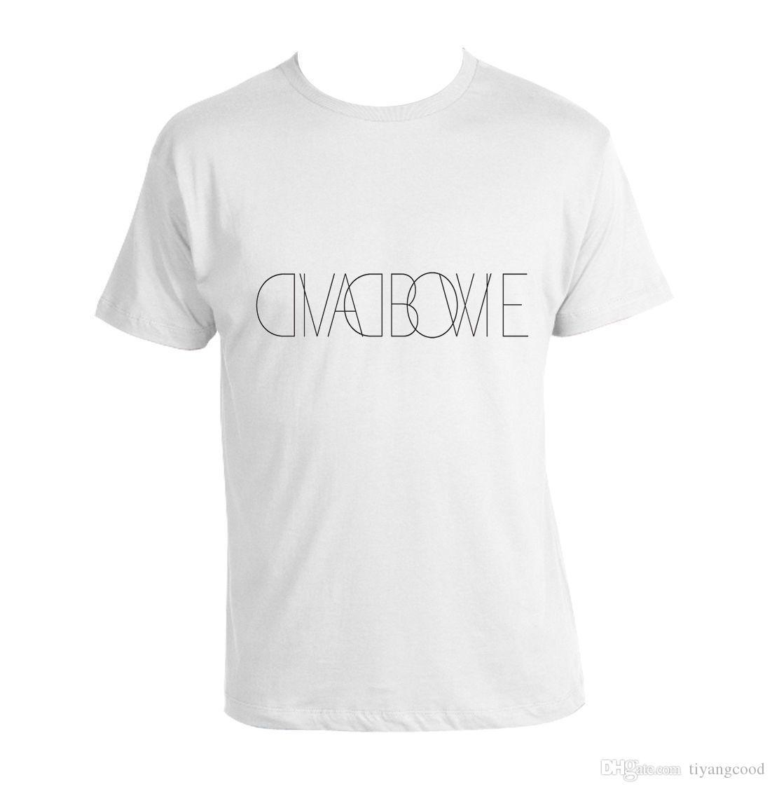Memorial T Shirt Ziggy David Bowie Stardust Worlds Funniest T Shirts