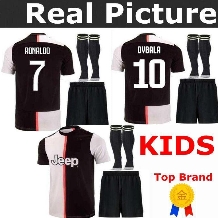 save off 241fd 427a8 19 20 Juventus kids Jersey childs ZIDANE 21 DEL PIERO 21 INZAGHI 2019 2020  Home away third RONALDO 7 KIDS PIRLO 21 Football shirts