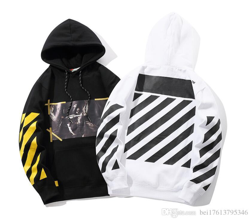 aa1af187942 Women S Autumn Winter Warm Fleece Hooded Sweatshirt Fashion Striped  Splicing Sleeve Loose Hoodies Pullover Jumper Top Plus Size UK 2019 From  Bei17613795346