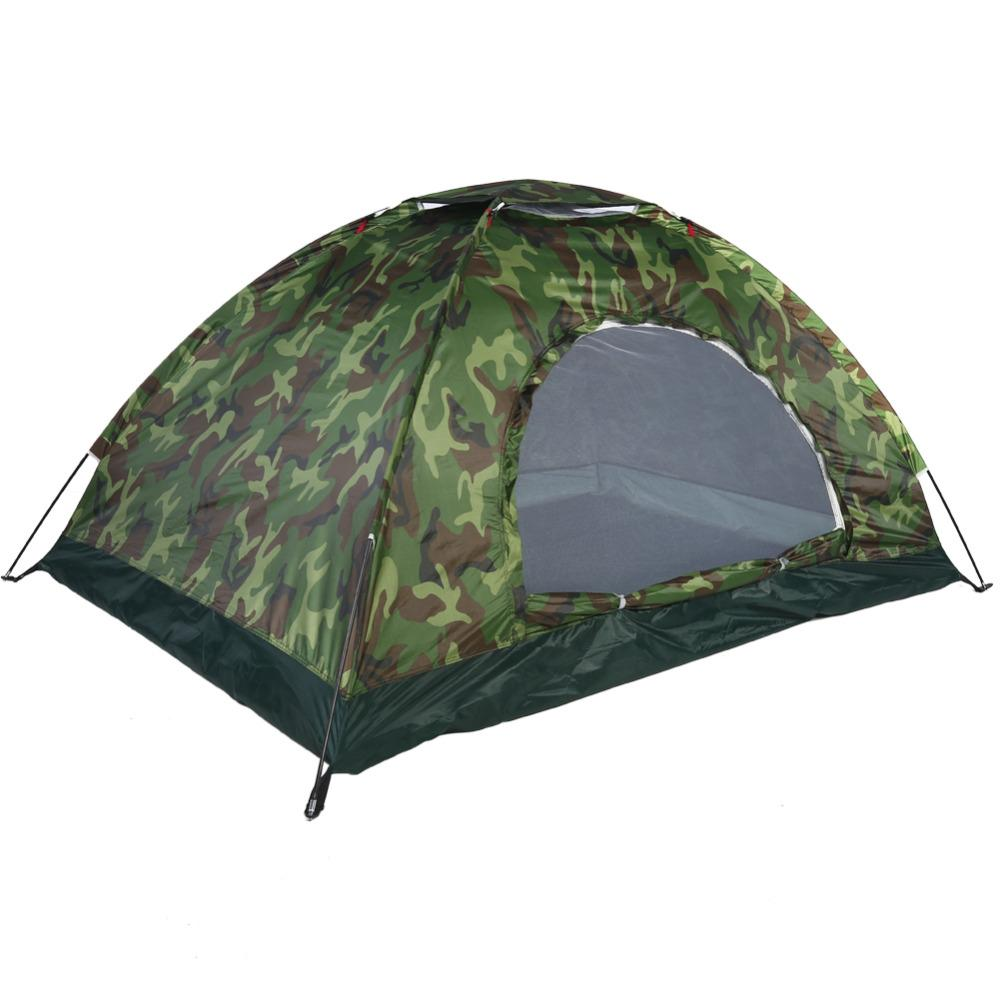 6b1a48f522 1 4 Person Portable Outdoor Camping Camouflage Tent Outdoor Camping  Recreation Double Couple Camping Tent Ultraviolet Proof Tent Backpacking  Tent 6 Person ...