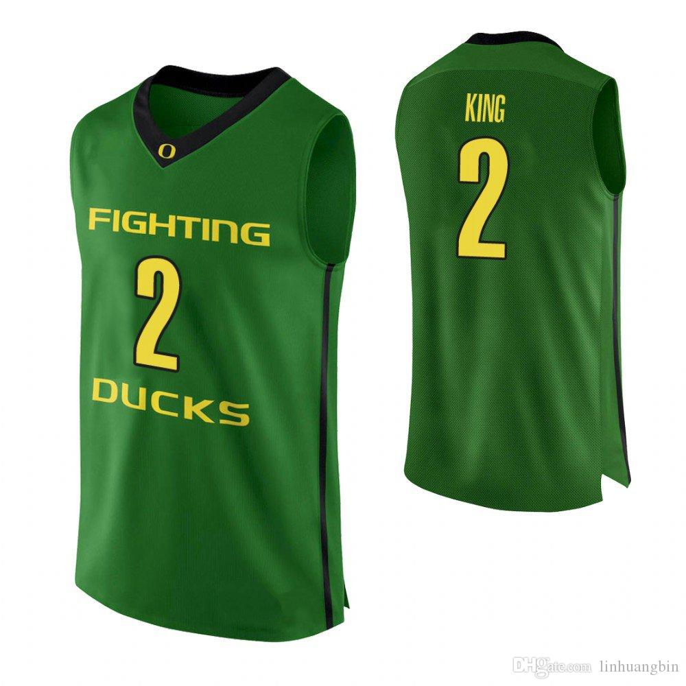 newest 861bb 13cc3 Louis King Youth Oregon Ducks White Will Richardson Green Will Johnson  Stitched Custom College Basketball Jersey