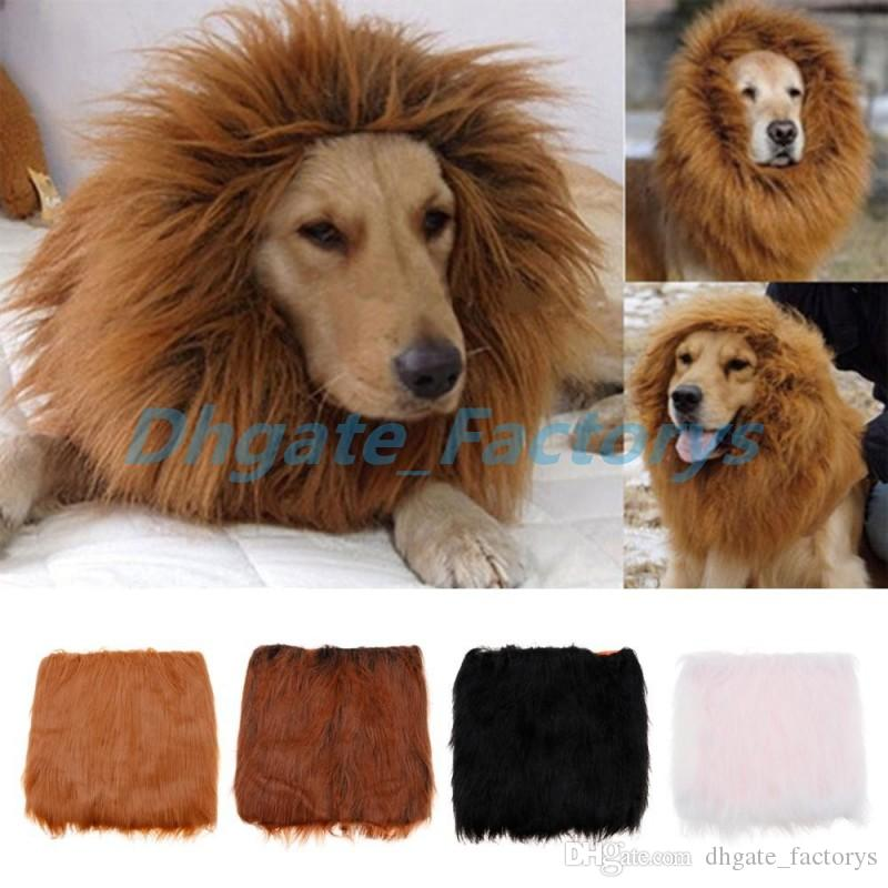 Acheter Pet Chien Chat Hirewig Costume Vetements Drole Lion Criniere
