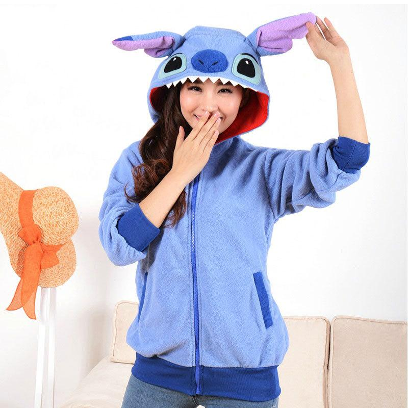 Sweatshirt Dinosaur Stitch Hoodie Tracksuit For Women Men Hooded Hoody Costume Cosplay moleton feminino ropa deportiva mujer Y190830