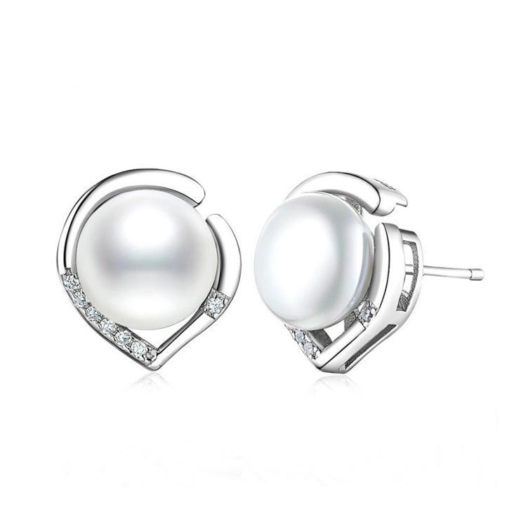 Ringe Generous Schmuck-stck Ring 925 Silber Neu Suesswasser Perle S Elegant In Style