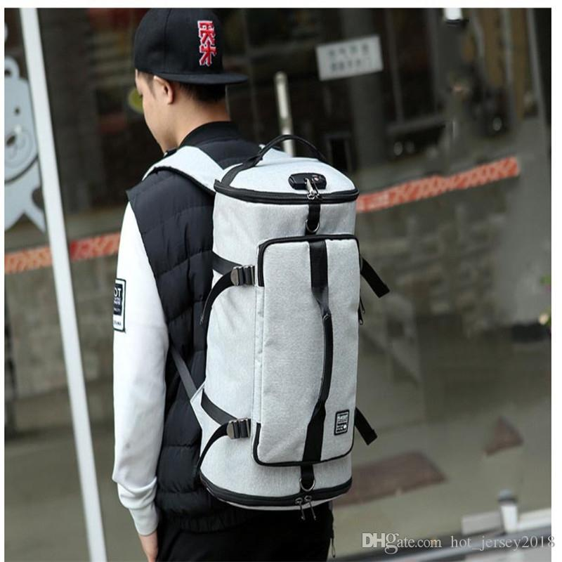 USB Smart Gym Backpack Men Women Large Backpack Anti Theft Sport Bags For 17inch Laptop Bagpack Outdoor Travel Fitness Back Pack #226165