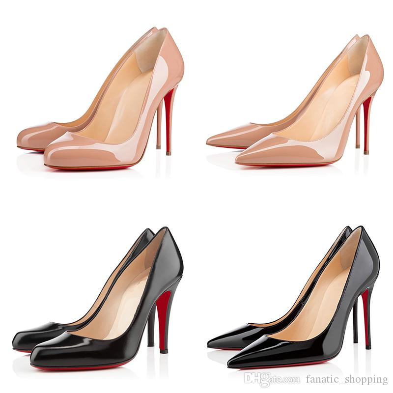 c7970fd1f78b Luxury Brand Red Bottom High Heels Pumps Round Pointed Toe So Kate Styles  High Heels Dress Wedding Women Shoes 8 10 12CM 35 42 Heels Shoes Online From  ...