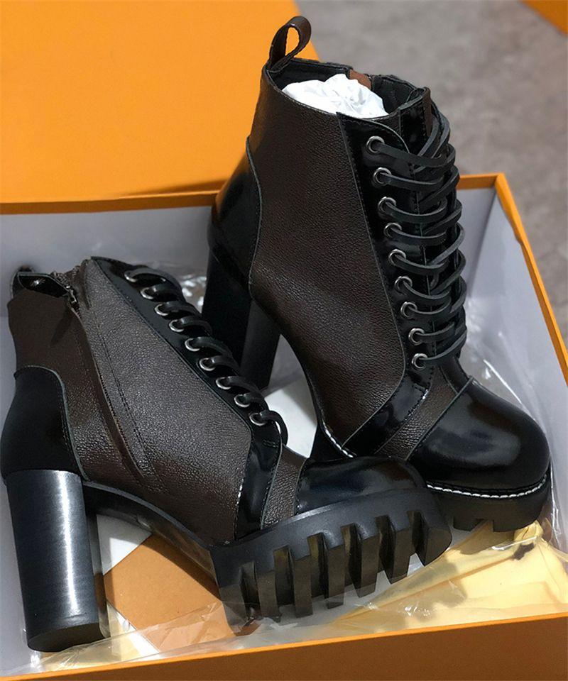 2019 Best Quality Laureate Platform Desert Boot Designer Women Ankle
