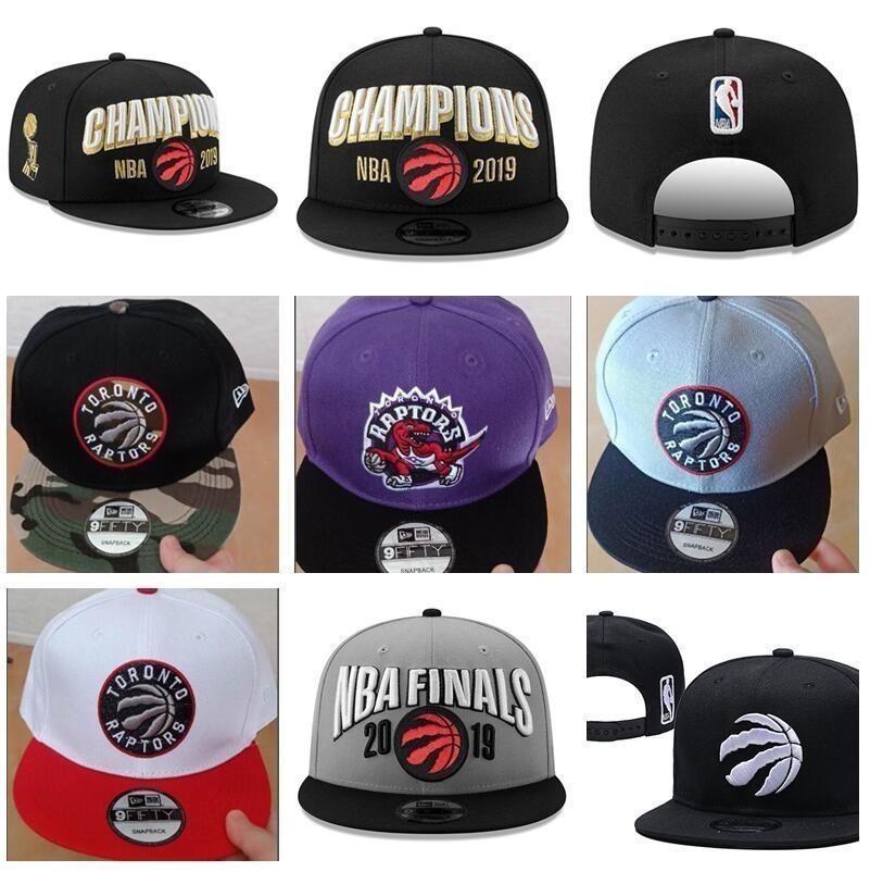 ede73e5a Men Toronto Basketball Cap Raptor Champions Snapback Hats Finals 2019 Sport  Black Adjustable Kawhi Leonard Lowry Ibaka Siakam VanVleet