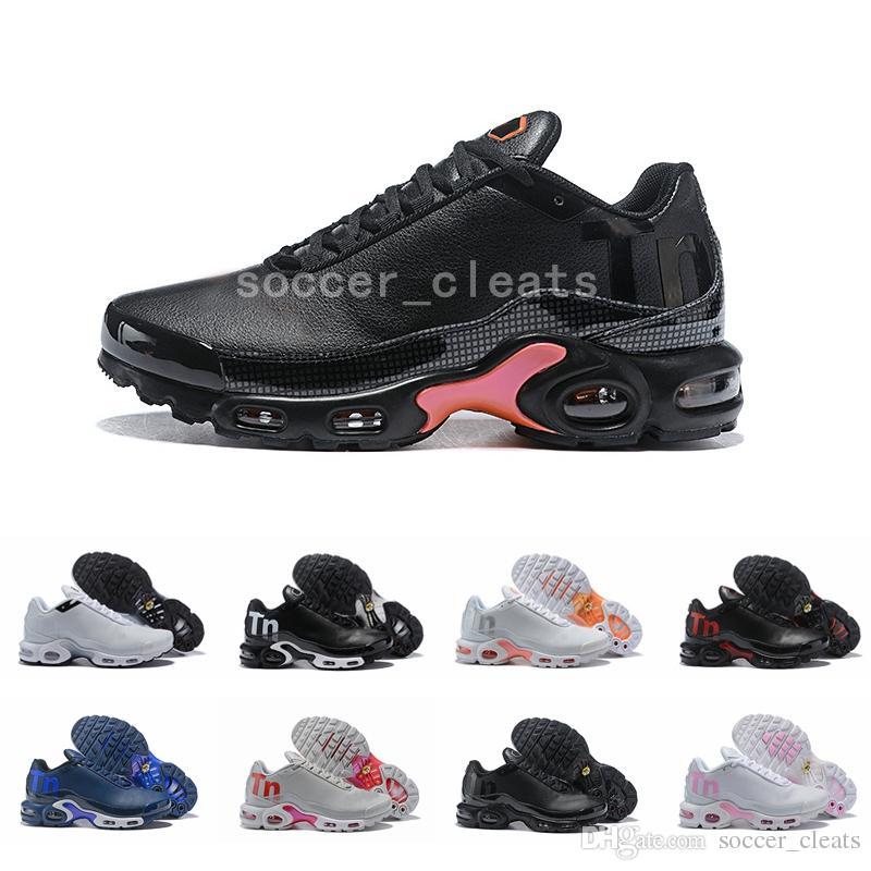 new concept b2cf6 c3e8b 2019 New Plus TN Mercuial 2 Zapatillas Chaussures Tns Marca De Cuero  Zapatillas De Deporte De Diseño Para Mujer Para Hombre Zapatillas  Deportivas 36 46 Por ...